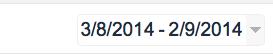 Filtro por Mes   Google Analytics