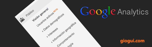 Visión General de Público   Google Analytics